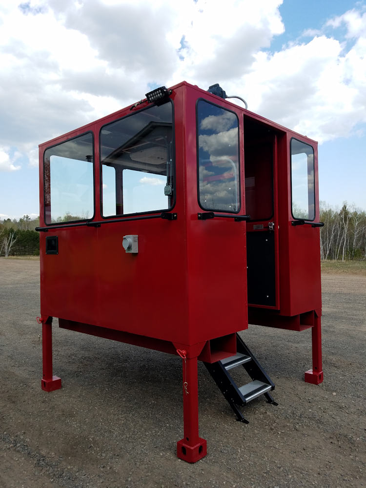 Cabs Rops Attachments elevated cab